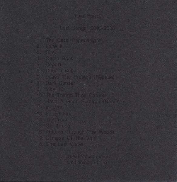 Lost Songs: 2005-2008
